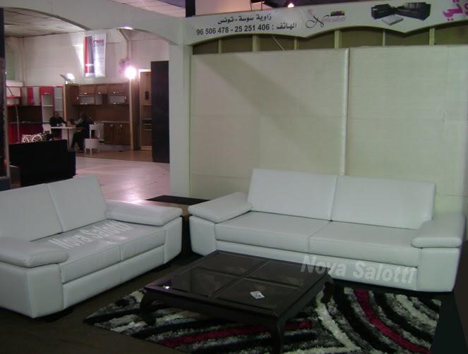 le salon 2011 salon des meubles charguia tunis tunisie nova salotti. Black Bedroom Furniture Sets. Home Design Ideas
