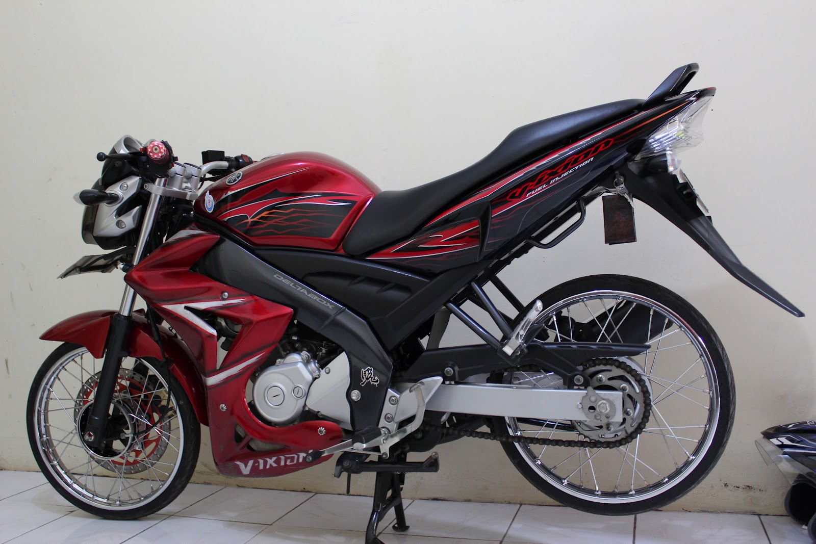 Alif Woody Modifikasi V Ixion Velk Jari Jari