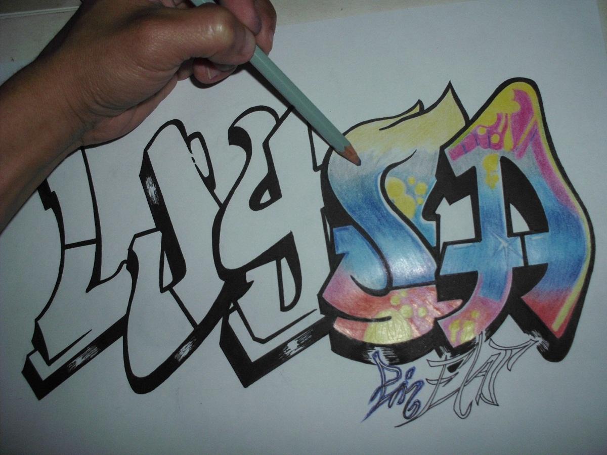 Graffitis De Nombres
