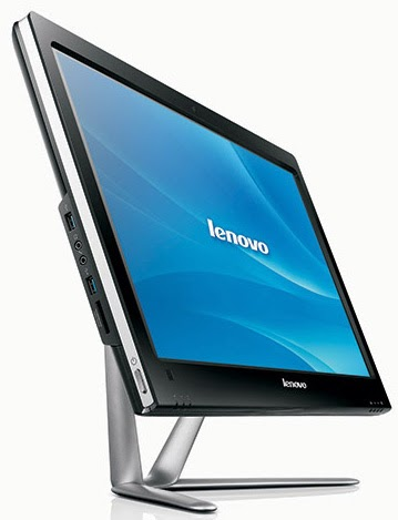 моноблок Lenovo IdeaCentre C540 Touch взгляд со стороны