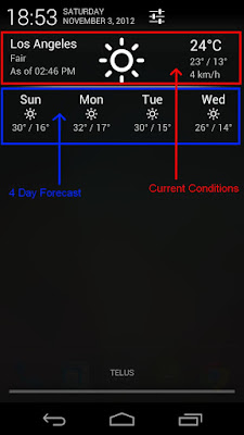 Notification Weather Pro