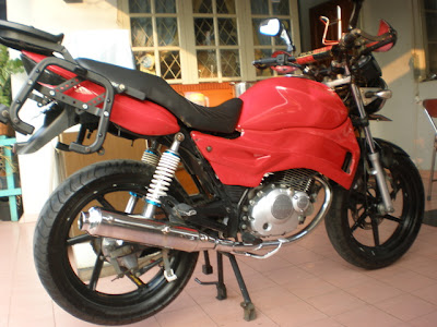 Thunder 125 cc touring modif