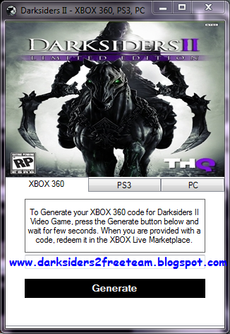 Darksiders II FREE GAME How To Get Darksiders II DLC