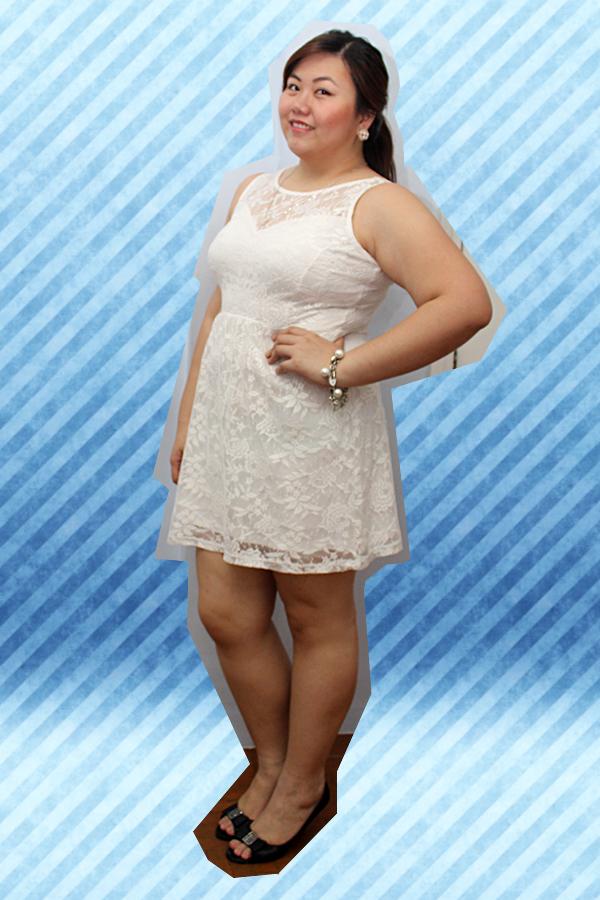Dorothy Perkins White Lace Sweetheart Dress, White Plus Size Dresses, Plus Size Attire for a Wedding, Plus Size Wedding Dress, Lace Dress Plus Size, SM Parisian Plus Black Heels, Trendy White Dress