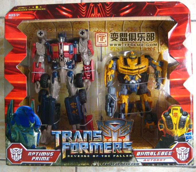 Jual Transformer Movie Optimus Prime & Bummble Bee - Revenge of Fallen  Figure