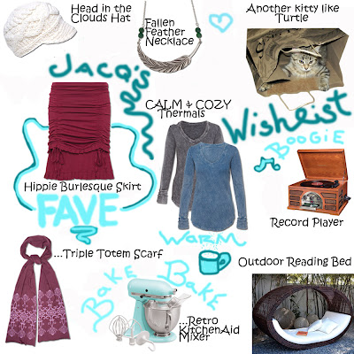 JacQ's WishyList - The Daydreamer's Wishlist