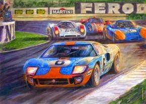 24 Hs. de Le Mans 1969