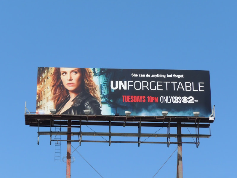Unforgettable CBS billboard