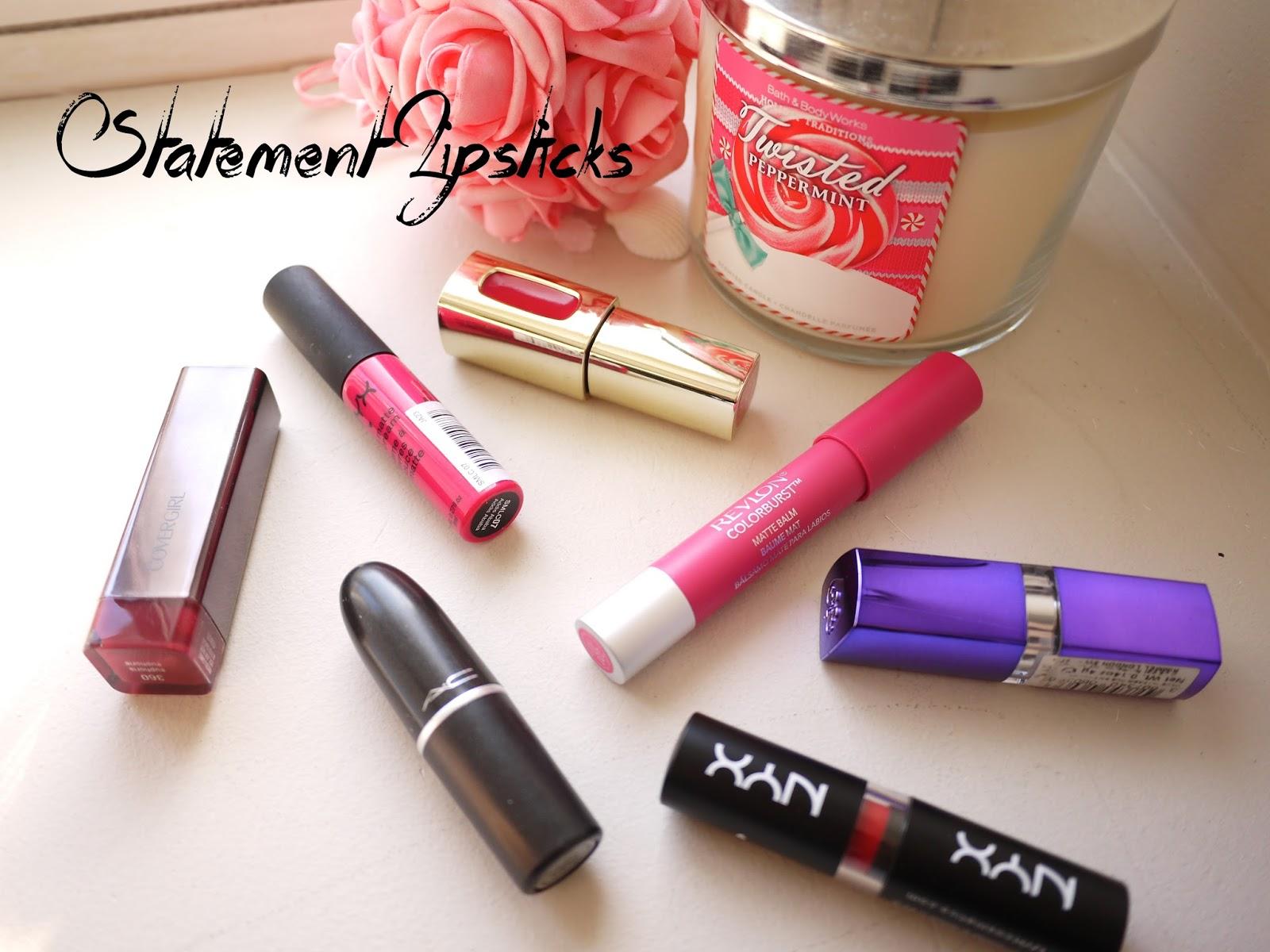 statement lipsticks