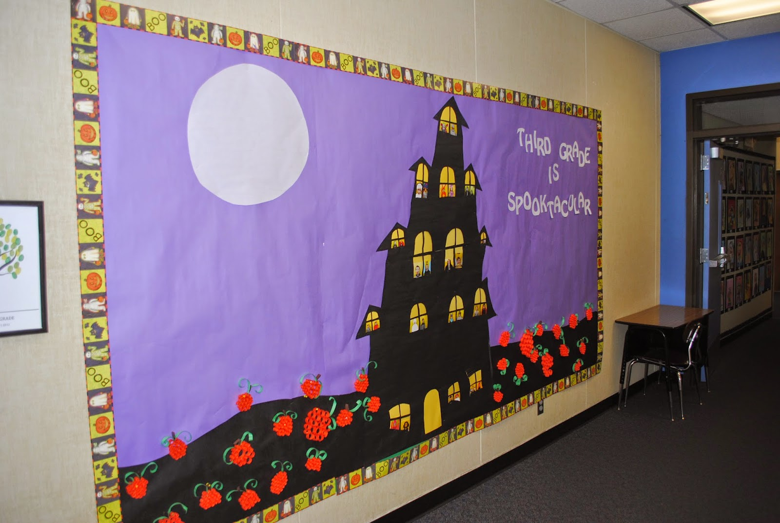 Inspiration for education halloween bulletin board for Shouse ideas