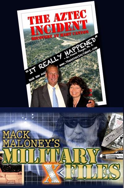 Scott & Suzanne Ramsey Discuss The Aztec UFO Crash with Mack Maloney