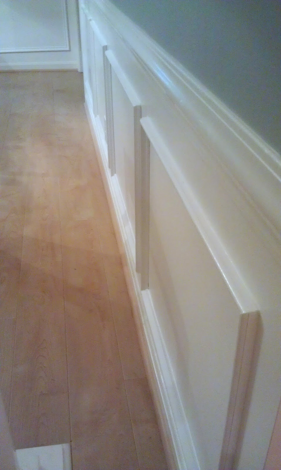 3 Inch Chair Rail Molding Part - 35: Homemade By Holman: Picture Frame Moldings And A Kitchen And Dining Makeover