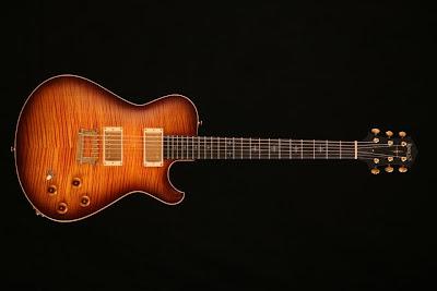 Knaggs Guitars Kenai Hickory Burst