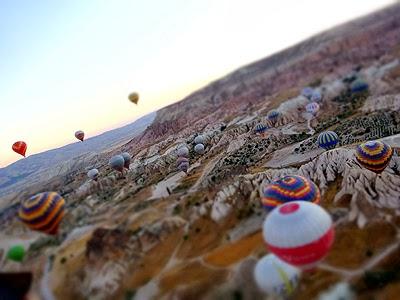 カッパドキア気球ツアー