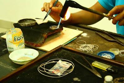 Celuk Village Gold and Silvermith Workshop Ubud Bali