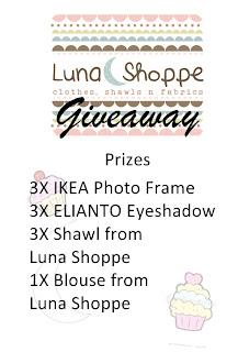 Luna Shoppe's GIVEAWAY!