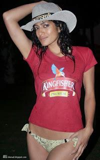 kingfisher bikini girls