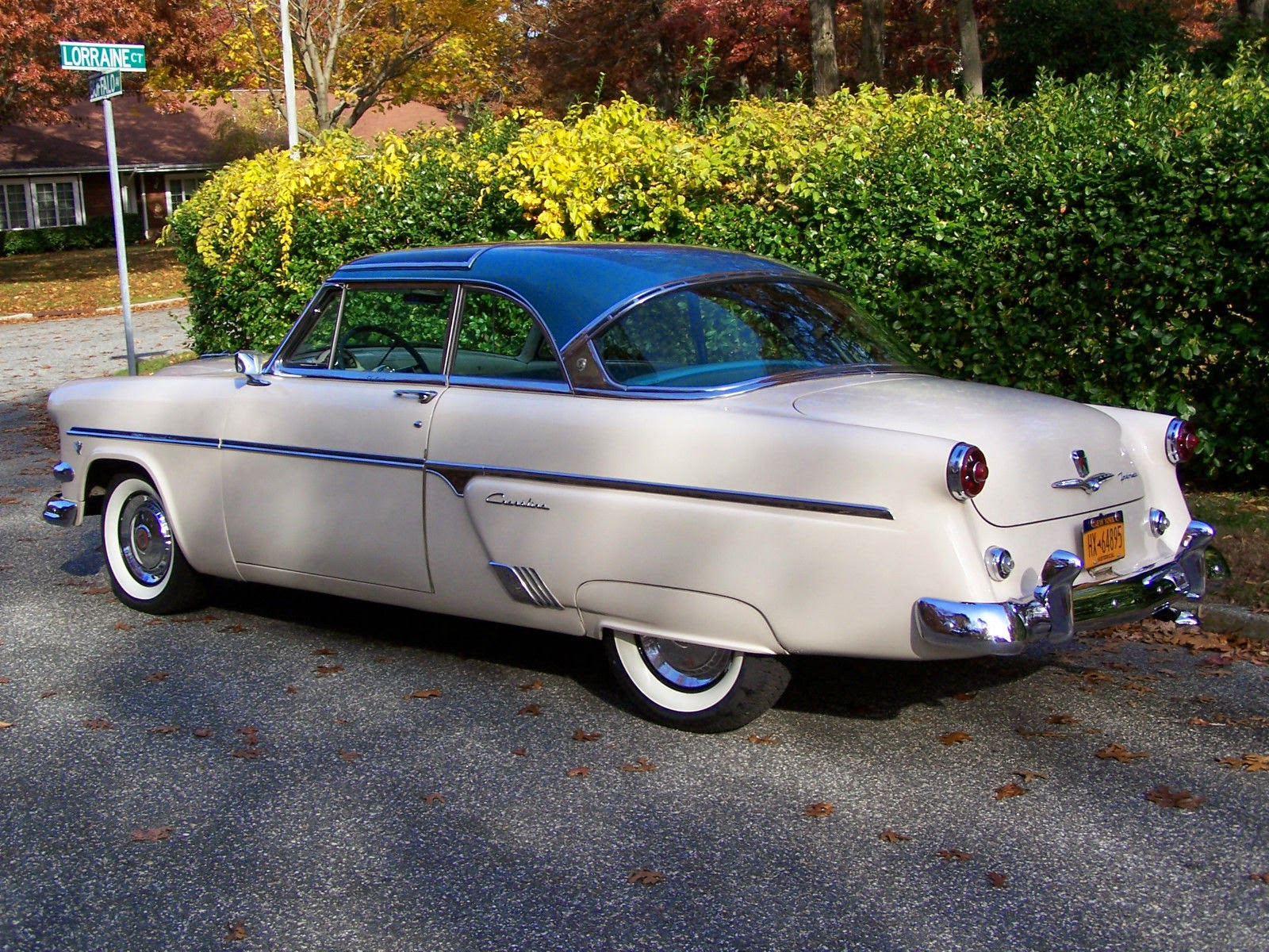 All American Classic Cars: 1954 Ford Crestline Skyliner 2 ...