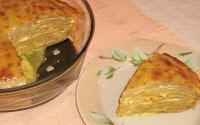 Slana torta od heljdinih palacinki