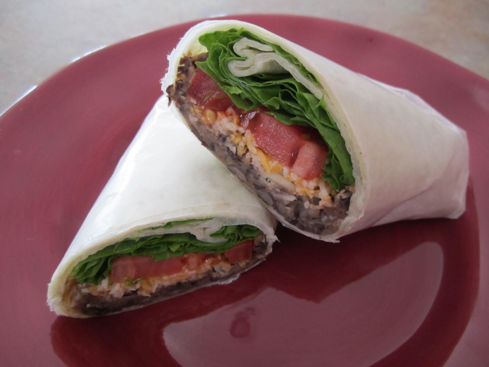 It's Fun 4 Me!: Veggie Taco-Salad Wraps