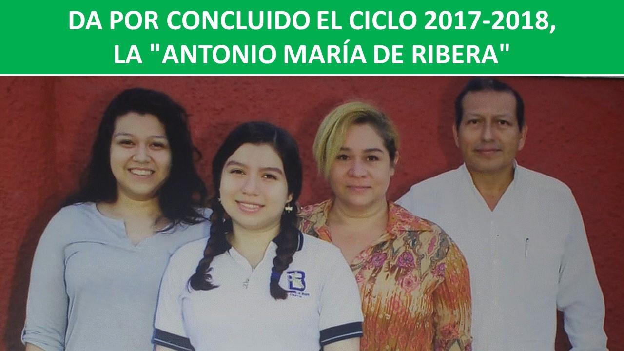 """LA """"ANTONIO MARÍA DE RIBERA"""""""