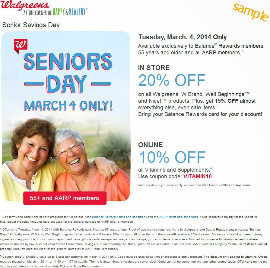 Browse for Walgreens coupons valid through December below. Find the latest Walgreens coupon codes, online promotional codes, and the overall best coupons posted by our team of experts to save you 25% off at Walgreens.