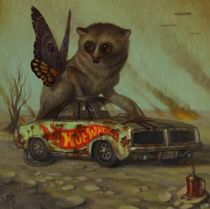 martin wittfooth illustration