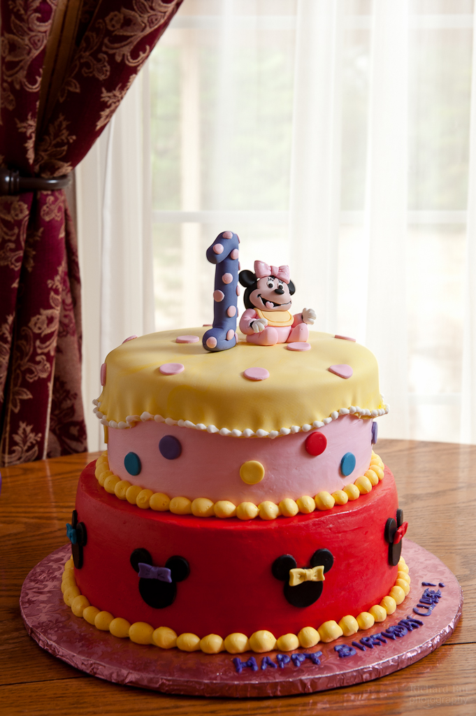 Baby Minnie Mouse 1st Birthday Cakes