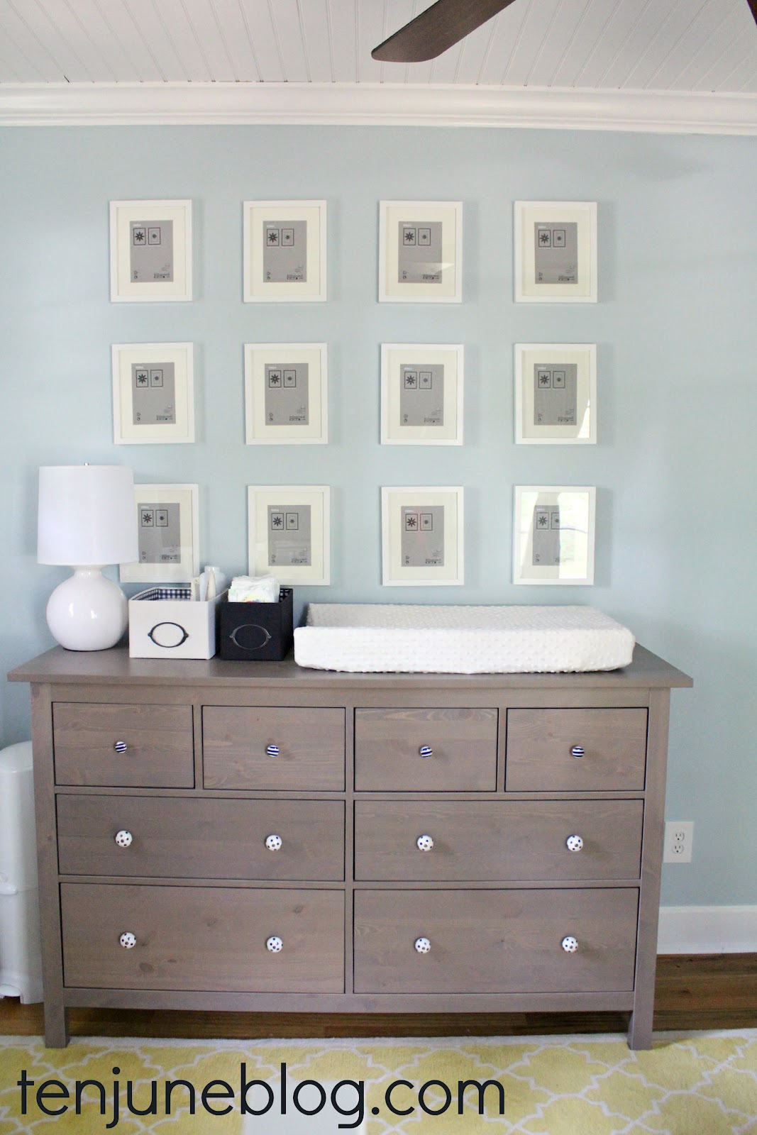 It Took Me Awhile But We Finally Settled On Using The Ikea Hemnes Dresser In Gray Brown Originally I Had Planned To Use White Version Of This Piece