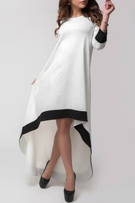 www.shein.com/White-Round-Neck-Contrast-Trims-High-Low-Dress-p-243370-cat-1727.html?aff_id=2687