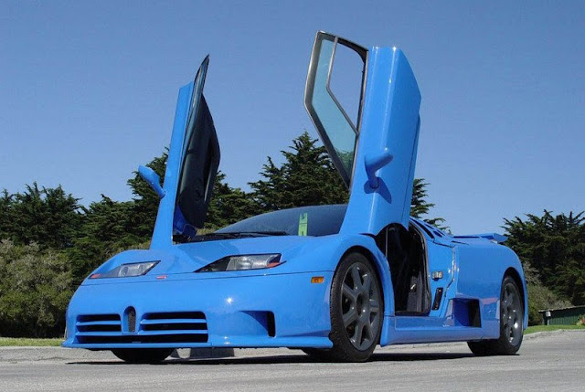 Bugatti EB110 Super Sport Burnout and More gassguzzler