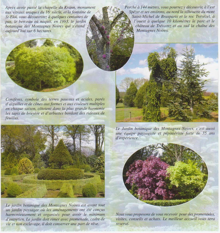 Portes ouvertes au jardin botanique des montagnes noires for Jardin 2 montagnes