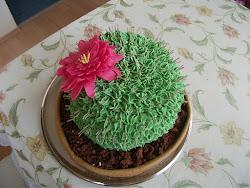 Kaktusz torta