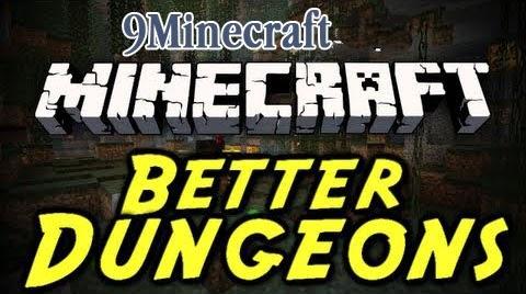 скачать моды на майнкрафт 1.7.10 на better dungeons #9