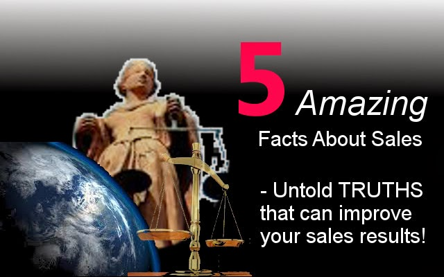 5 Amazing Facts About Sales