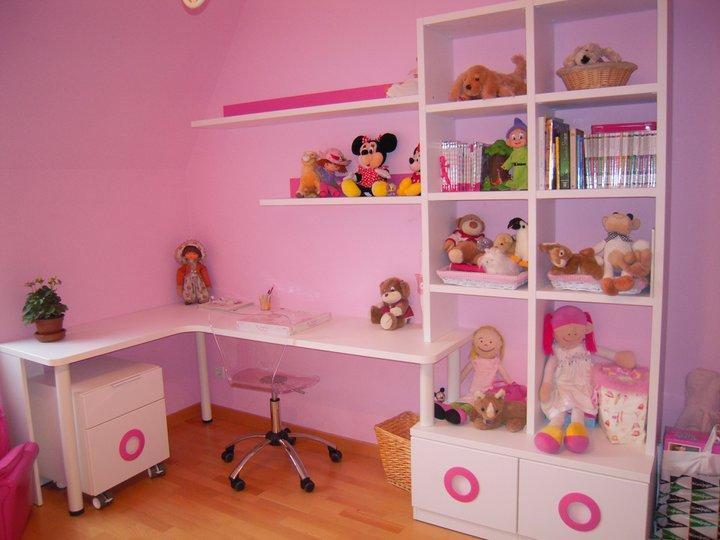 Dormitorio juvenil con literas abatibles - Mesa estudio juvenil ...