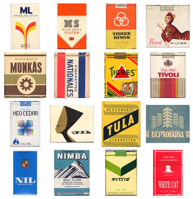 coleccion Cajetillas de cigarros