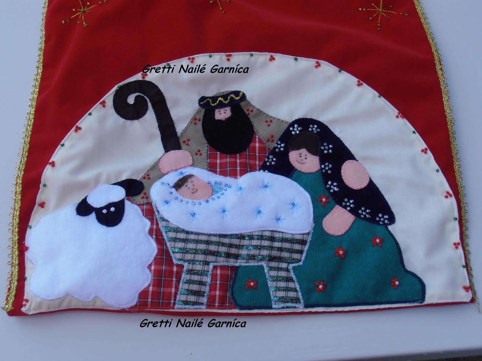 Manualidades y creaciones de gretti navidad en tela - Manualidades de navidad en tela ...