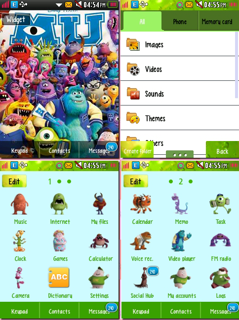 CORBY 2 THEMES: Monsters University Theme by CuteCorby