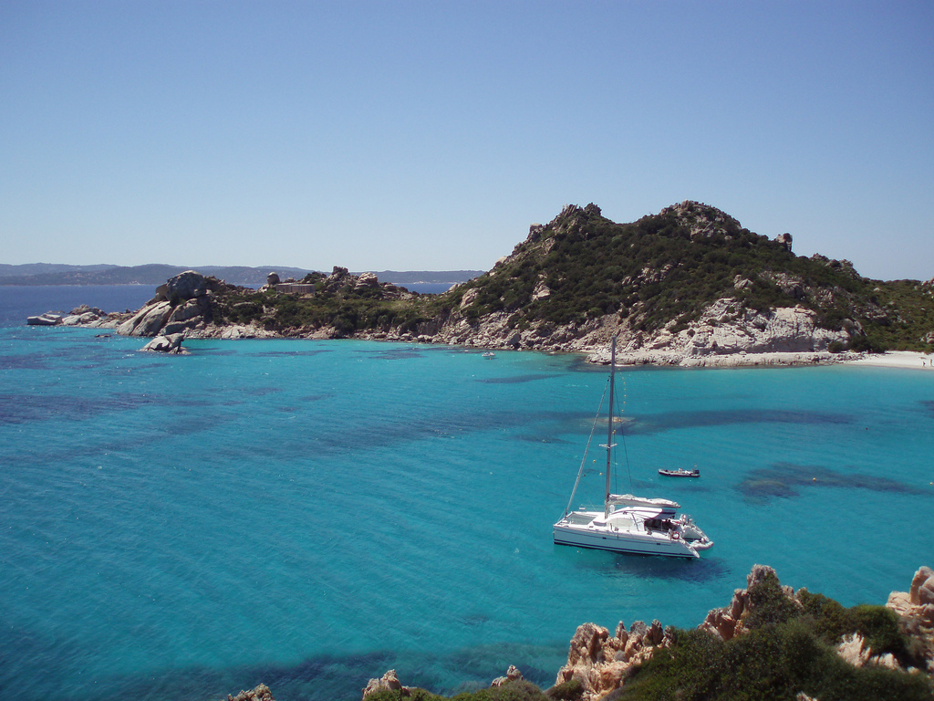 Large Italian Island Lies Just  Miles South Of Corsica