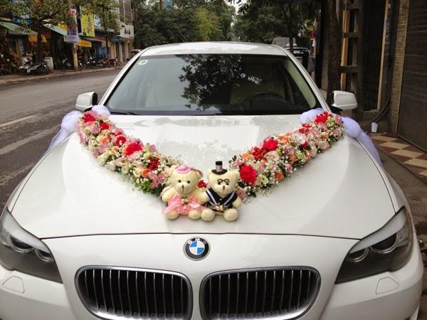 Đức Vinh Trans cho thuê xe cưới BMW 320i - xe hạng sang
