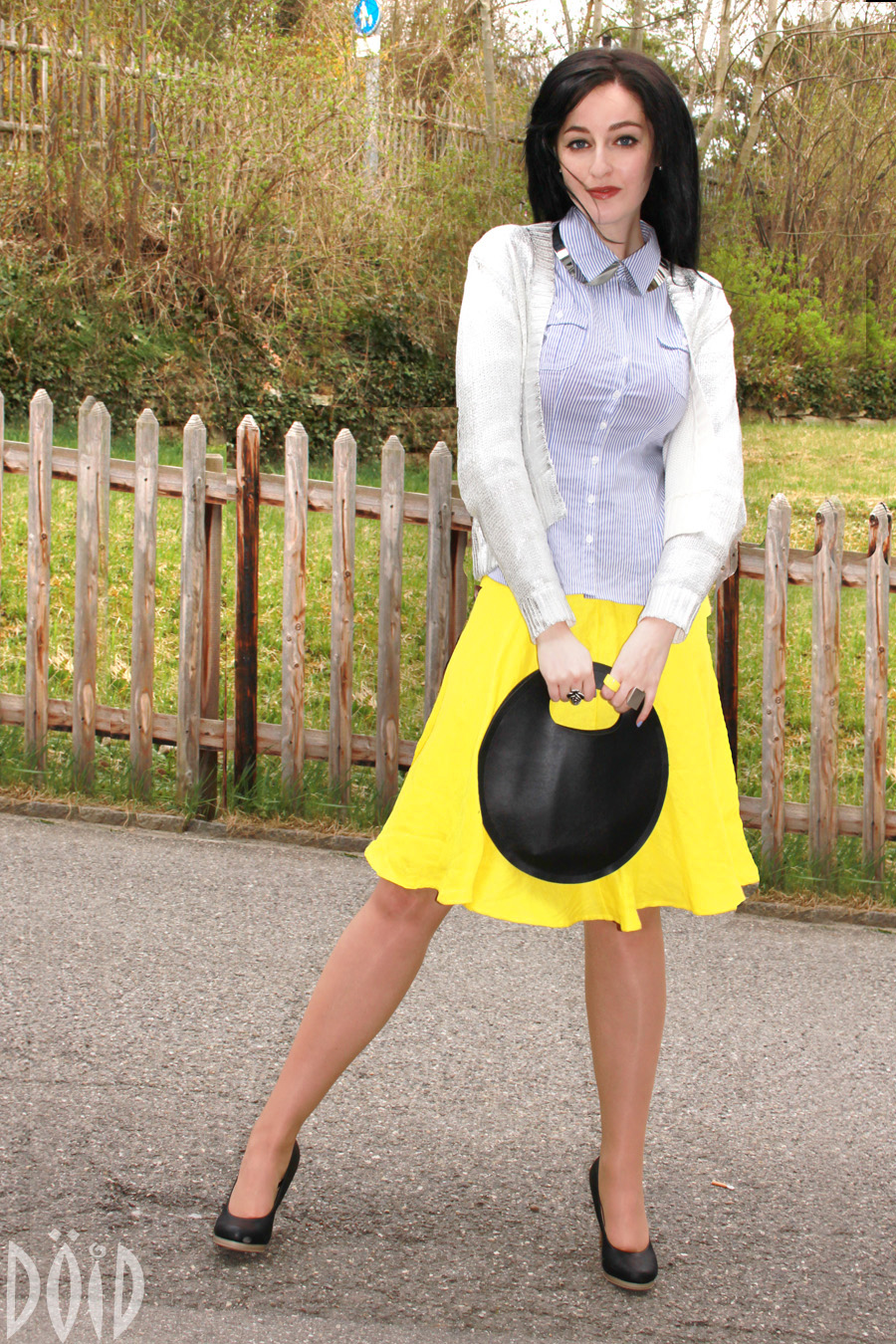 Fabulous Dressed Blogger Woman Charlene From Swiss