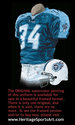 Tennessee Titans 2007 uniform