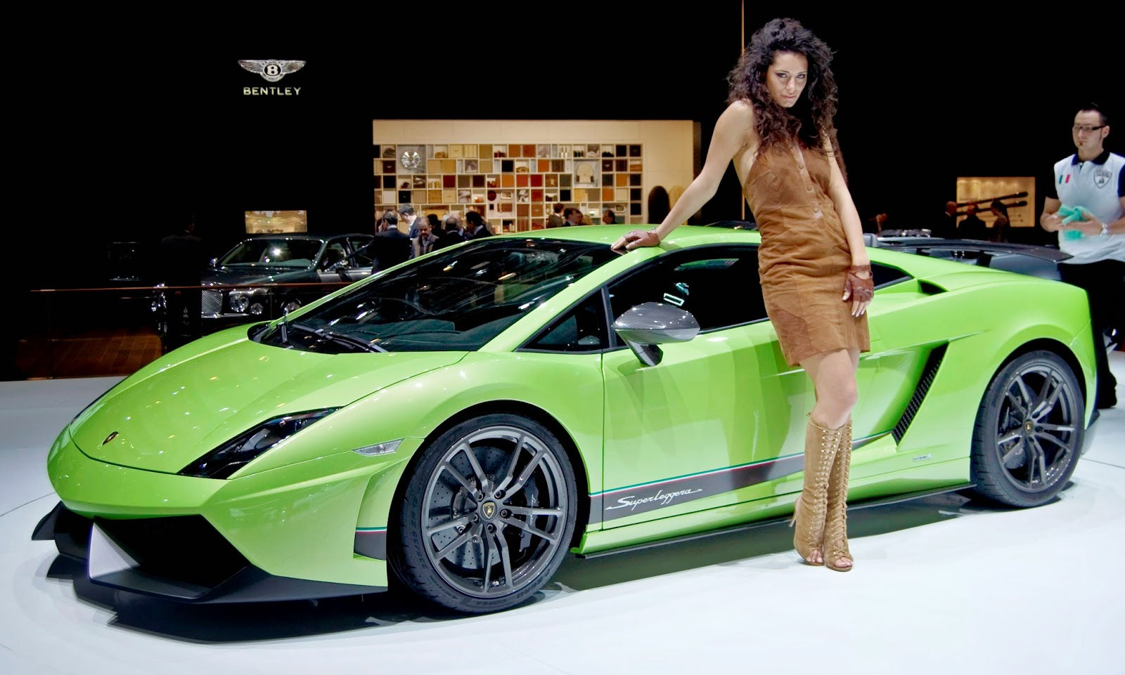 The Baby Lambo, envisioned in 1997, was introduced in 2003 as the Gallardo.