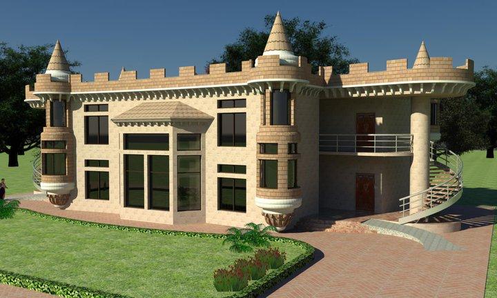3d Home Front Elevation Software Free Download : D front elevation exterior render