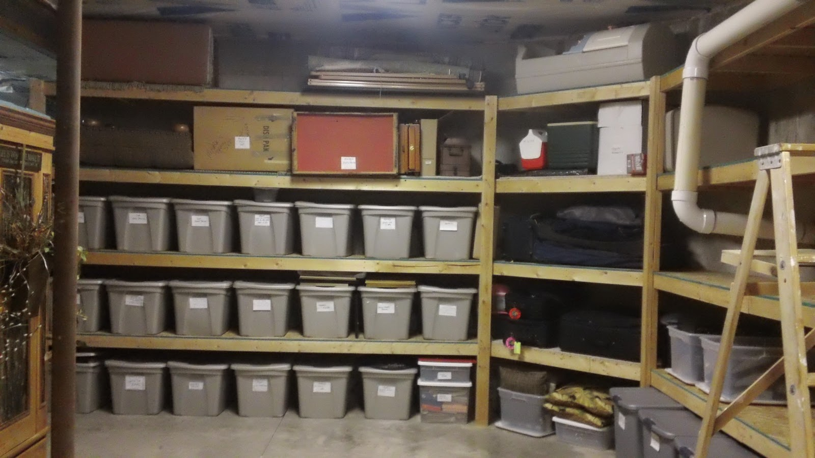 Basement Storage Organization Ideas