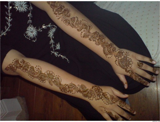 Mehndi For Thin Hands : Tattoo choose top pakistani mehndi design