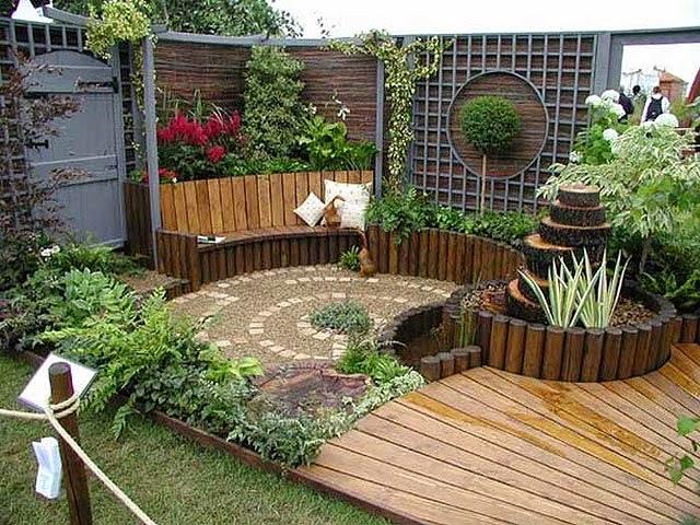 Dise o de jardines dise o de jardines for Diseno de jardin grande