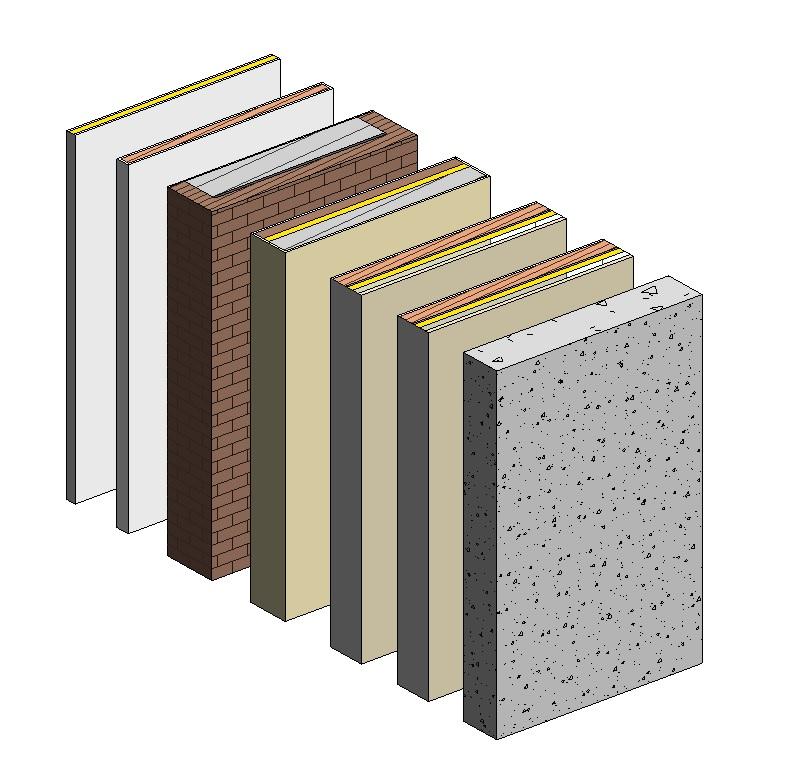 Manual de revit transferir muros de un proyecto a otro en revit - Tipos de muros ...