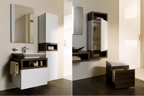 Muebles De Baño Toto:de gran estética con sus formas simples para la creación de